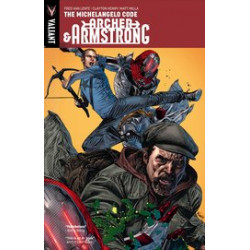 ARCHER ARMSTRONG TP VOL 1 MICHELANGELO CODE NEW PTG