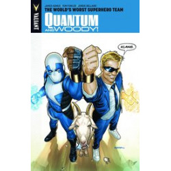 QUANTUM WOODY TP VOL 1 WORLDS WORST SUPERHERO TEAM