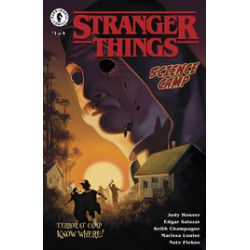 STRANGER THINGS SCIENCE CAMP 1 CVR A KALVACHEV
