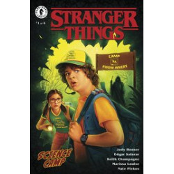 STRANGER THINGS SCIENCE CAMP 1 CVR B LAMBERT