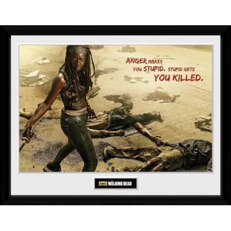 MICHONNE KILL PRINT FRAME COLLECTOR