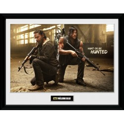 RICK AND DARYL HUNT PRINT FRAME COLLECTOR