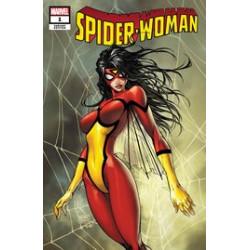SPIDER-WOMAN 1 CVR A TURNER VARIANT