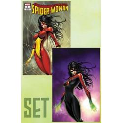 SPIDER-WOMAN 1 CVR A B SET