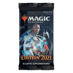 MAGIC THE GATHERING EDITION DE BASE 2021 BOOSTERS DE DRAFT