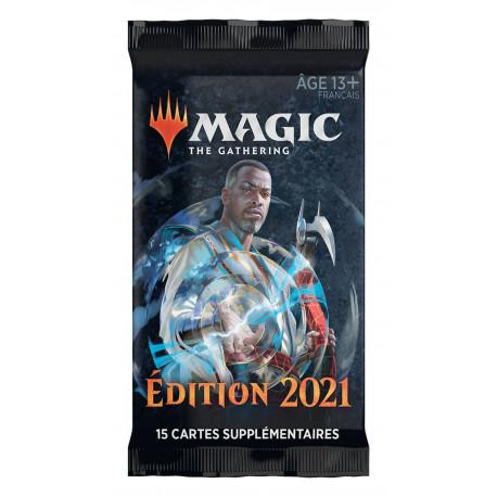 MAGIC THE GATHERING EDITION DE BASE 2021 BOOSTERS DE DRAFT