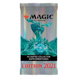 MAGIC THE GATHERING EDITION DE BASE 2021 BOOSTERS COLLECTORS
