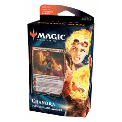 CHANDRA MAGIC THE GATHERING EDITION DE BASE 2021 DECKS DE PLANESWALKER