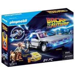 DELOREAN BACK TO THE FUTURE PLAYMOBIL BOX 70317