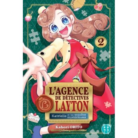 L'AGENCE DE DETECTIVES LAYTON T02 - KATRIELLE ET LES ENQUETES MYSTERIEUSES