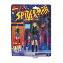 GWEN STACY MARVEL RETRO 6INCH COLLECTION SPIDER-MAN ACTION FIGURE