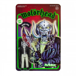MOTORHEAD WARPIG GLOW IN THE DARK REACTION ACTION FIGURE 10 CM