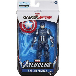 CAPTAIN AMERICA AVENGERS MARVEL LEGENDS SERIES GAMERVERSE ACTION FIGURE