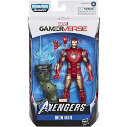 IRON MAN AVENGERS MARVEL LEGENDS SERIES GAMERVERSE ACTION FIGURE