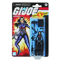 BARONESS G.I. JOE RETRO COLLECTION 3-3/4IN AF