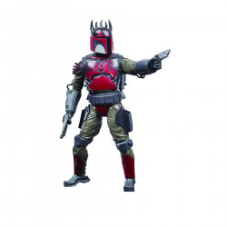 MANDALORIAN SUPER COMMANDO SW BLACK SERIES 6IN CW AF