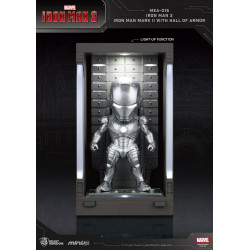 IRON MAN 3 MINI EGG ATTACK FIGURINE HALL OF ARMOR IRON MAN MARK II 8 CM