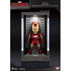 IRON MAN 3 MINI EGG ATTACK FIGURINE HALL OF ARMOR IRON MAN MARK VI 8 CM