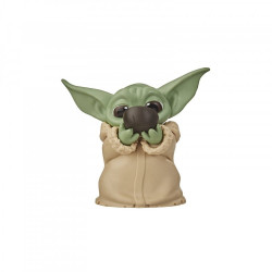 THE CHILD SIPPING SOUP STAR WARS MANDALORIAN BOUNTY COLLECTION FIGURINE