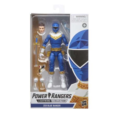 BLUE RANGER POWER RANGERS LIGHT COLL ZEO ACTION FIGURE 15 CM