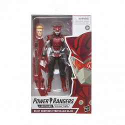 BLAZE POWER RANGERS LIGHT COLL BEAST MORPHERS CYBERVILLAIN ACTION FIGURE
