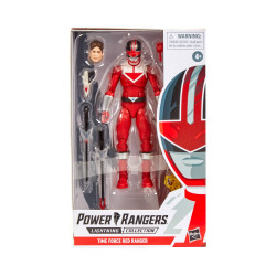 RED RANGER POWER RANGERS LIGHTNING 6IN TIME FORCE ACTION FIGURE 15CM