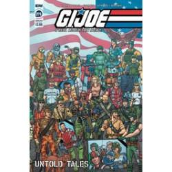 GI JOE A REAL AMERICAN HERO 276 CVR B SHEARER