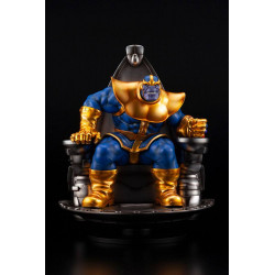THANOS ON SPACE THRONE MARVEL FINE ART STATUE 45 CM