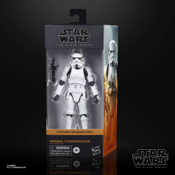 IMPERIAL SOTMTROOPER THE MANDALORIAN STAR WARS BLACK SERIES 2020 WAVE 3 ACTION FIGURE 15 CM