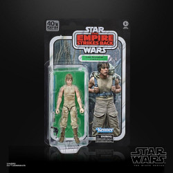 Luke Skywalker Dagobah Star Wars Black Series 40th Anniversary Wave 3 action figure 15 cm
