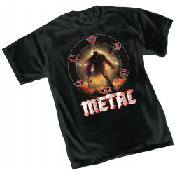 DARK NIGHTS METAL TOUR DC COMICS T SHIRT SIZE S