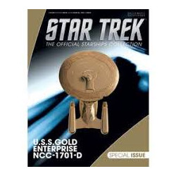 USS ENTREPRISE NCC 1701 GOLD STAR TREK STARSHIPS SPECIAL NUMERO 23