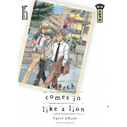 MARCH COMES IN LIKE A LION - TOME 15