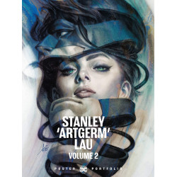 STANLEY ARTGERM LAU VOL 02 DC POSTER PORTFOLIO