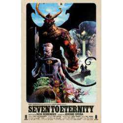 SEVEN TO ETERNITY 14 CVR A OPENA HOLLINGSWORTH