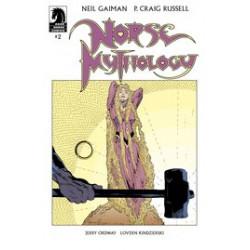 NEIL GAIMAN NORSE MYTHOLOGY CVR A RUSSELL