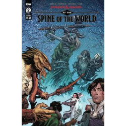 DUNGEONS DRAGONS AT SPINE OF WORLD 2 CVR A COCCOLO