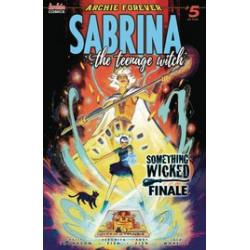 SABRINA SOMETHING WICKED 5 CVR A VERONICA FISH