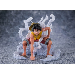MONKEY D. LUFFY PARAMOUNT WAR FIGUARTS ZERO ONE PIECE PVC STATUE