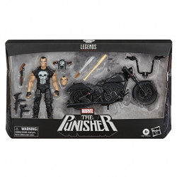 PUNISHER W/MOTORCYCLE MARVEL LEGENDS SERIES 6INCH ACTION FIGURE