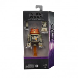 CHOPPER STAR WARS BLACK SERIES REBELS 6INCH ACTION FIGURE