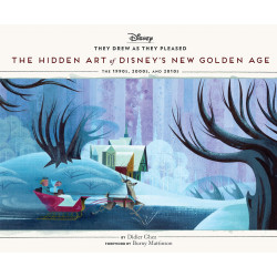 HIDDEN ART OF DISNEYS GOLDEN AGE VOL 06 THE 1990S TO 2020