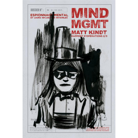 MIND MGMT RAPPORT D'OPERATIONS 2/3 - ESPIONNAGE MENTAL ET SO