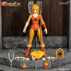THUNDERCATS WAVE 3 FIGURINE ULTIMATES CHEETARA THE SUPER SPEEDY THUNDERCATS WARRIOR 18 CM