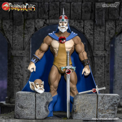 THUNDERCATS WAVE 3 FIGURINE ULTIMATES JAGA THE WISE THUNDERCAT MENTOR 18 CM