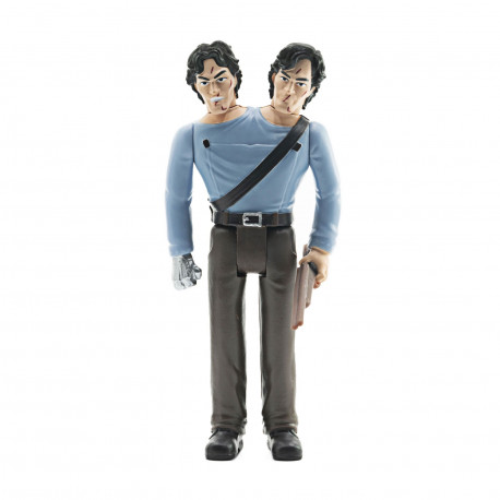 ARMY OF DARKNESS FIGURINE REACTION TWO-HEADED ASH 10 CM