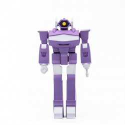 TRANSFORMERS WAVE 2 FIGURINE REACTION SHOCKWAVE 10 CM