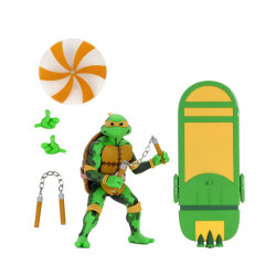 MICHELANGELO LES TORTUES NINJA TURTLES IN TIME SERIE 2 FIGURINE 18 CM