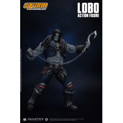 LOBO INJUSTICE GODS AMONG US FIGURINE 21 CM