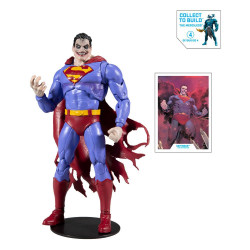 DC MULTIVERSE FIGURINE BUILD A SUPERMAN THE INFECTED 18 CM